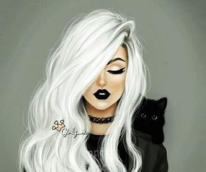 arte, blanco y negro, and estilo image