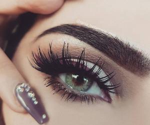 beauty, eye, and eyeshadow image
