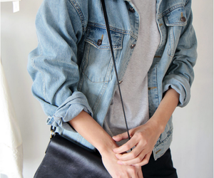 denim, jeans, and style image