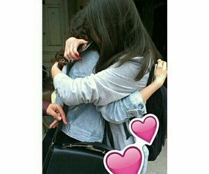 💗 and 👭 image
