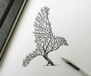 черный, красиво, and рисунки image