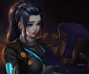 league of legends and pulsefire caitlyn image