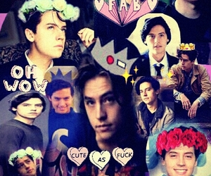 Collage and riverdale image