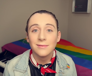 lgbtq, trevor, and youtube image