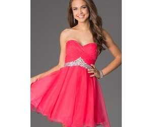 brand, strapless, and dresses image