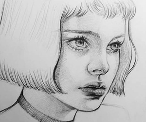 black and white, drawing, and movie image