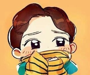 Chen, fanart, and exo image