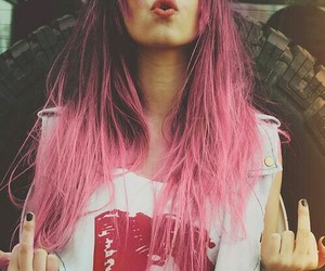 awesome and pink hair image