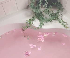 pale, pink, and vintage image