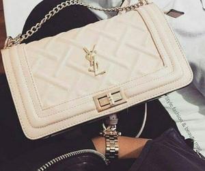 bag, fashion, and Yves Saint Laurent image