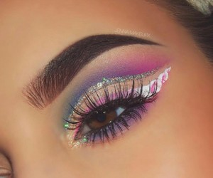 belleza, eyes, and make-up image