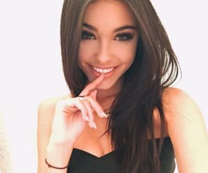 beer, girl, and madisonbeer image