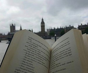 book, books, and london image