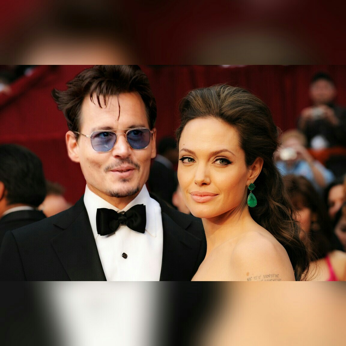 Angelina Jolie And Johnny Depp On We Heart It