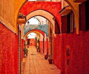 morocco, photography, and red image