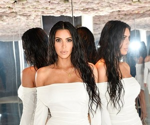 kim kardashian and kim kardashian west image