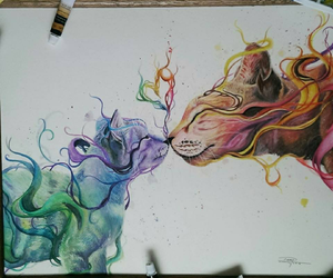 goals, colors, and art image