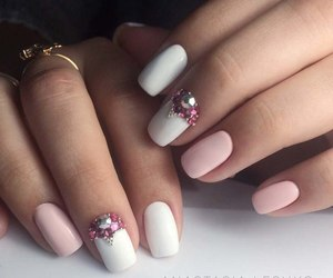 hands, pink, and white image
