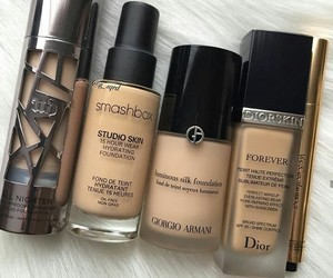 dior, makeup, and smashbox image
