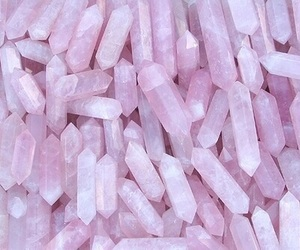 aesthetic, crystals, and pinkaesthetic image