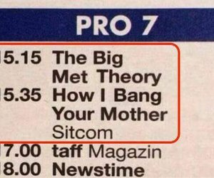funny, how i met your mother, and the big bang theory image
