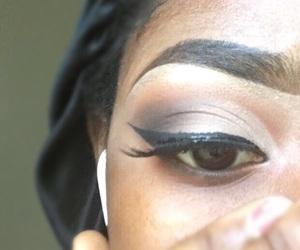 eyeshadow, mua , and glam image