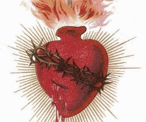 Catholic and sagrado coração de jesus image