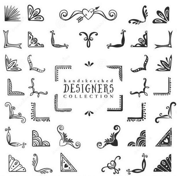 35 Images About Decoraciones Para Las Hojas De Cuadernos On