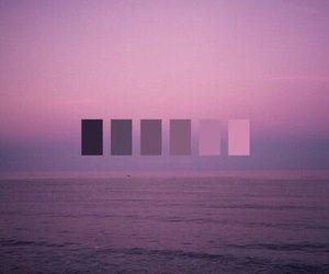 purple, pink, and ocean image