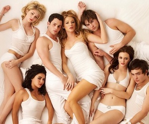 cast, gossip girl, and characters image