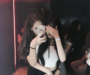 girl, ulzzang, and couple image