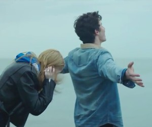 couple, imagine, and music video image
