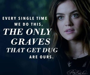 pretty little liars and aria montgomegy image