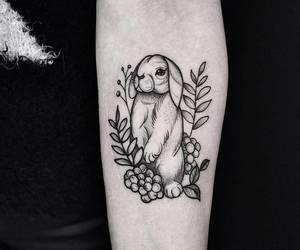 rabbit tattoo image