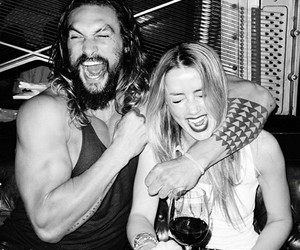 jason momoa, amber heard, and aquaman image