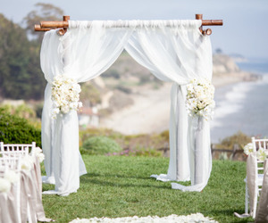 decor, wedding, and white image