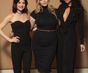 lucy hale, shay mitchell, and pretty little liars image