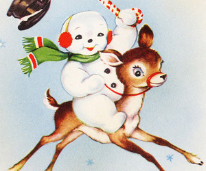 candy cane, vintage, and north pole image