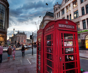 london, photography, and telephone image
