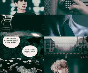 aesthetic, au, and jungkook image