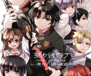 anime, anime girl, and children image