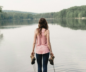girl and wattpad cover image