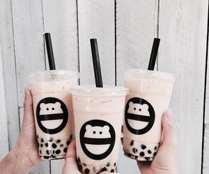 boba, drinks, and tea image