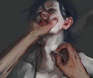 anguish, madness, and anime image