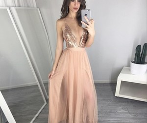 party dress, prom dresses, and wedding dress image