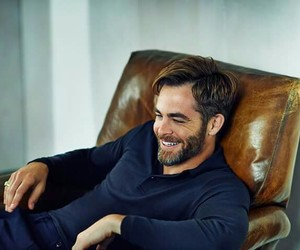 chris pine, handsome, and actor image