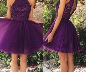 dress, homecoming dresses, and prom dress image