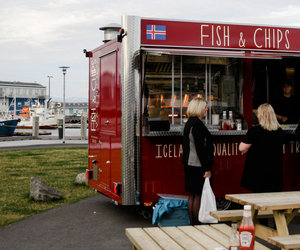 article, fish and chips, and iceland image