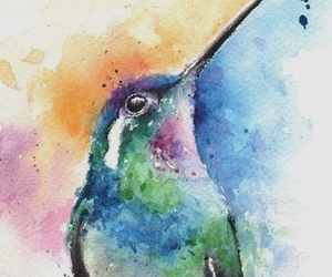 water colour, art, and lovely image
