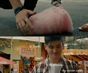 cotton candy, memes, and inside jokes image